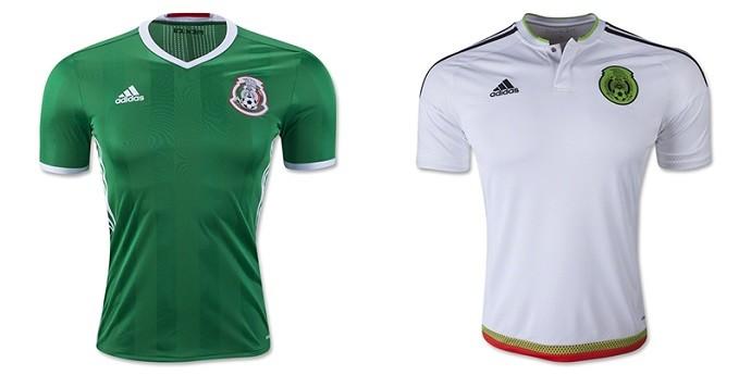 Camisa México Copa América Centenario