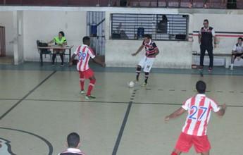 Em jogo equilibrado, Náutico e Santa  empatam em 1 a 1 pelo PE de Futsal
