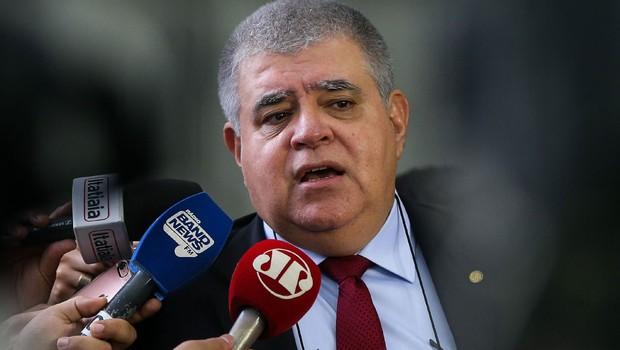 O presidente da Comissão Especial da Reforma da Previdência Social, deputado Carlos Marun (Foto: Marcelo Camargo/Agência Brasil)