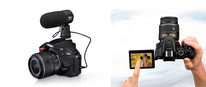 Confira as câmeras digitais para gravar vídeos (Foto  Divulgação Nikon) 04edda0720