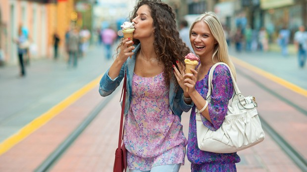 Vai  Fontana di Trevi? Aproveite para tomar um gelato (Foto: Divulgao)