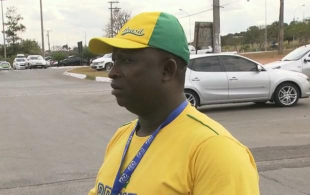 Ganes esquecido no Brasil James Kwabena (Foto: Reprodução / SporTV)