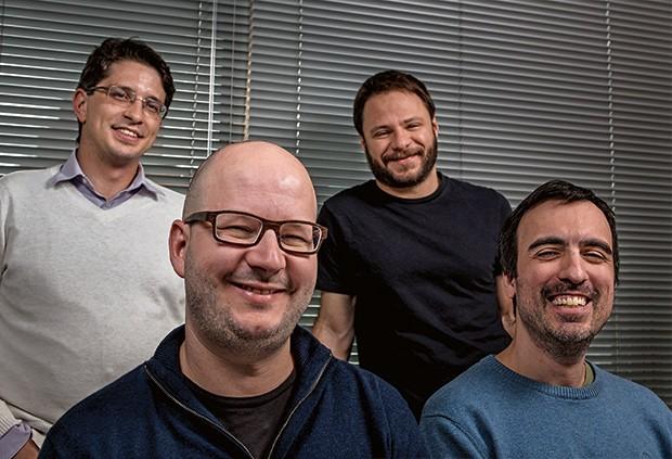 Empresa;Tecnologia;Brunoro, Orsatti, Carareto e Mainier (Foto: Marcos Camargo)
