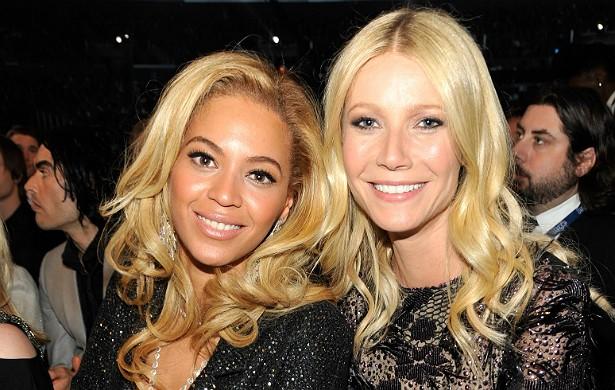 """Beyoncé e Gwyneth Paltrow se adoram há anos. A atriz já revelou que a cantora """"é uma grande amiga, em todos os aspectos"""". (Foto: Getty Images)"""
