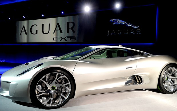 carro Jaguar C-X75  (Foto: AFP)