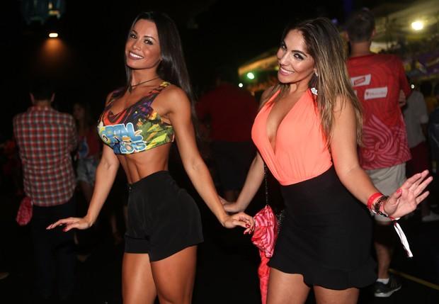 Fernanda D'Avila e Anamara (Foto: Iwi Onodera/ Ego)