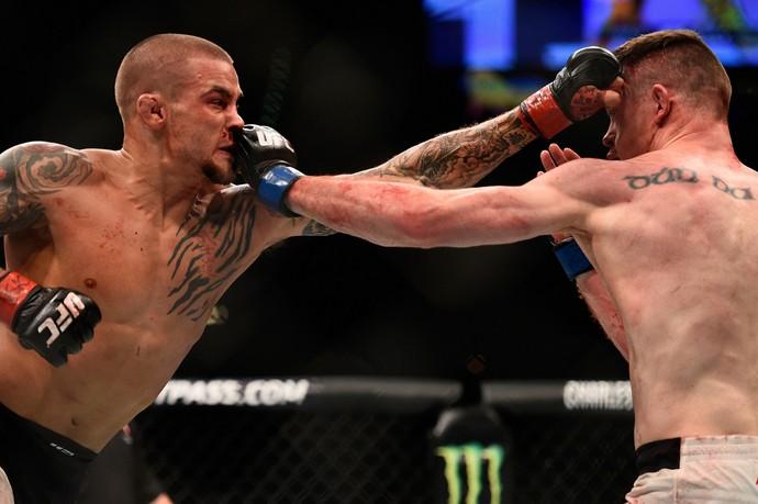 Dustin Poirier, Joseph Duffy, UFC 195, MMA (Foto: Getty Images)