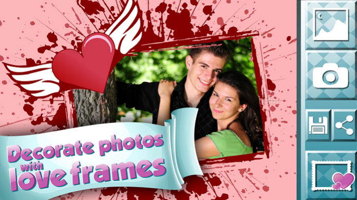 Molduras para Fotos de Amor é um app para Android em que o casal pode inserir fotos em molduras românticas (Foto: Divulgação/Android) (Foto: Molduras para Fotos de Amor é um app para Android em que o casal pode inserir fotos em molduras românticas (Foto: Divulgação/Android))