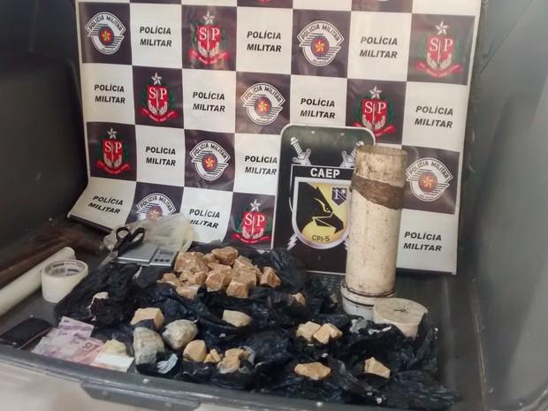 Policiais chegaram até a estãncia por meio de denúncia anônima. Rio Preto (Foto: Divulgação / Polícia Civil)