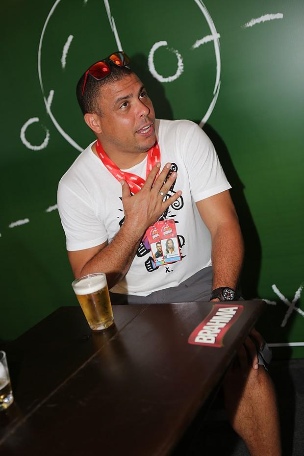 Ronaldo Nazário (Foto: Murillo Tinoco / Agi9 / Foto Rio news)