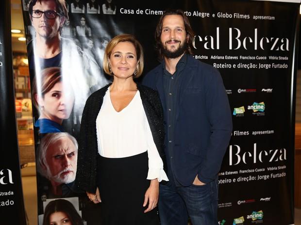 Adriana Esteves e Vladmir Birchta lançam filme (Foto: Manuela Scarpa/ Foto Rio News)
