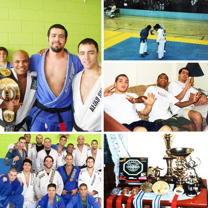 Mosaico Wilson Reis jiu-jítsu (Foto: Esporte Arte)