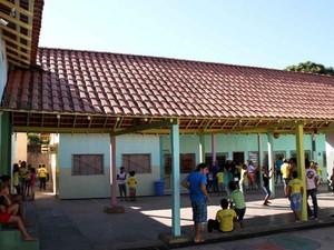 Escola municipal em Corumbá (MS) (Foto: Marcos Boaventura/Prefeitura de Corumbá)