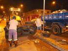 São Vicente tem mutirão de limpeza na madrugada após festa da virada