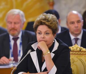 A popularidade do governo de Dilma Rousseff caiu de 43% para 36% desde novembro de 2013 (Foto: Vladimir Astapkovich/Host Photo Agency via Getty Images)