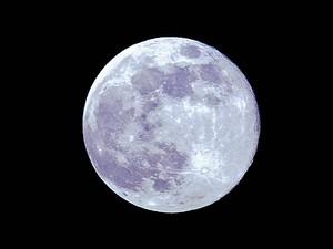 Lua cheia poderia influenciar sono (Foto:  Pedro Sánchez/Notimex/Arquivo AFP)