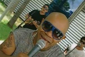 Reinaldo e o Terra Samba (Foto: Reprodução/TV Globo)