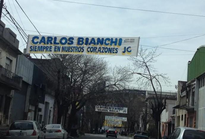 torcida boca juniors protesto (Foto: Reprodução)