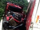Acidente envolve 4 veículos e causa quase 20 km de congestionamento