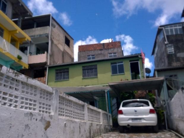 Academia onde trabalhava professor de educação física morto em Salvador (Foto: Cássia Bandeiras/G1)