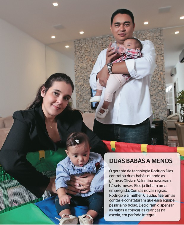 Duas babás a menos (Foto: Berg Silva/ÉPOCA)