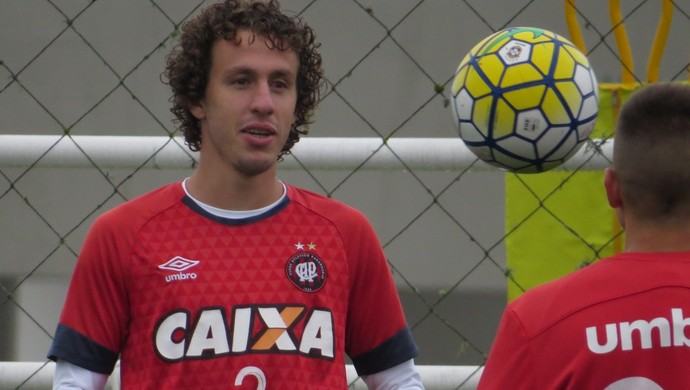 Rafael Galhardo Atlético-PR (Foto: Fernando Freire)