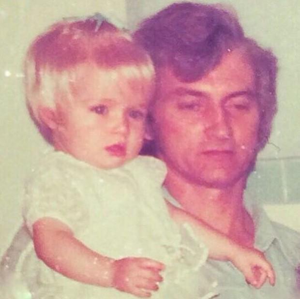 Angélica e o pai (Foto: Reprodução/Instagram)