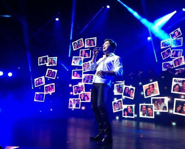 Daniel comemora 30 anos de carreira em show no Rio de Janeiro (Foto: Reprodução)