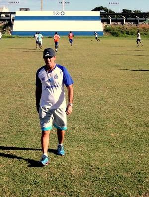 Paulo Moroni, treinador do Parnahyba  (Foto: Kairo Amaral )
