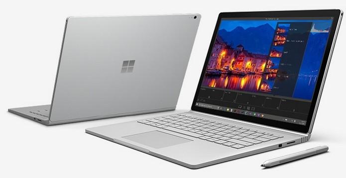 Surface Book tem preço inicial de US$ 1.499 (Foto: Divulgação) (Foto: Surface Book tem preço inicial de US$ 1.499 (Foto: Divulgação))