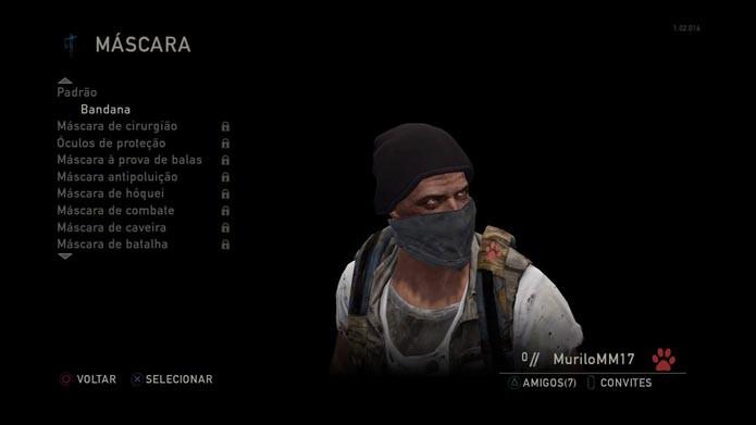 Escolha máscaras e capacetes (Foto: Reprodução/Murilo Molina)