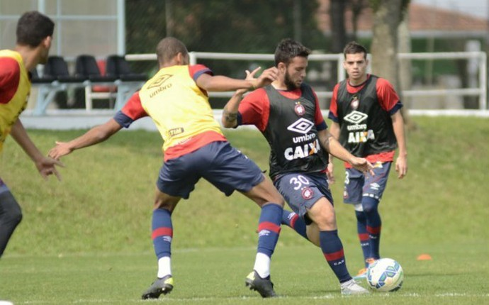 Atlético-PR Giovanni treino (Foto: Divulgação/ Atlético-PR)