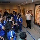 Instituto visita exposição na  Unifor (Ares Soares/Unifor)