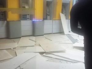 Ataque ocorreu às 2h desta quarta-feira (Foto: Sad Viana)