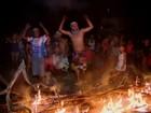 Grupo pede por segurança na BR-494 em Divinópolis durante protesto
