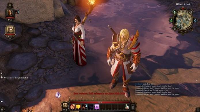 Wizard são mais fortes quando estão em local do mesmo elemento de sua especialização (Foto: Reprodução / mmorpg)