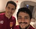 """Hernanes se inspira em trio de Tite em reinício na China: """"Grandes ambições"""""""