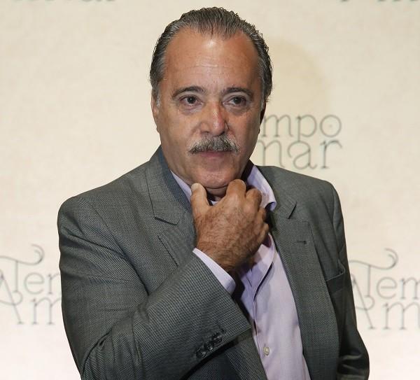 """Tony Ramos diz que tem paciência com quem está começando: """" (Foto: TV Globo/ César Alves)"""