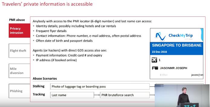 Dados dos usuários podem ser acessados pelos GDS (Foto: Reprodução/Felipe Vinha)