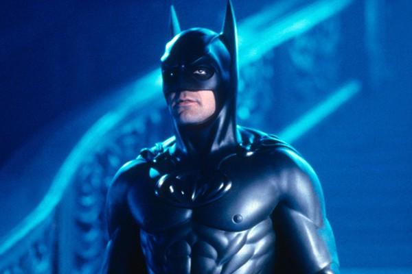 George Clooney em 'Batman e Robin' (1997) (Foto: Reprodução)