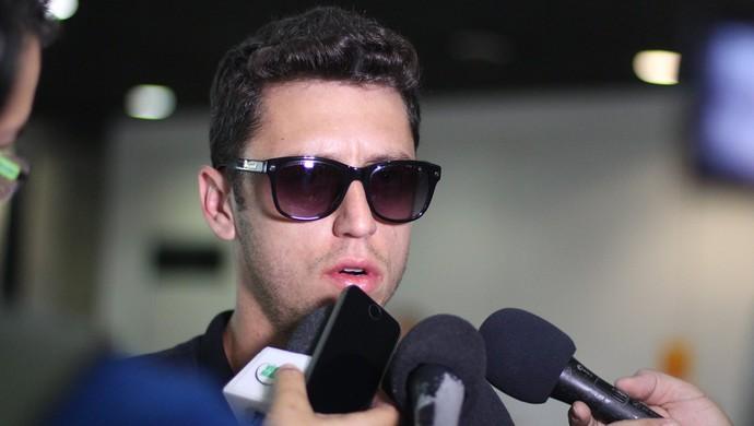 Felipe Menezes, meia-atacante do Ceará (Foto: Israel Simonton/Divulgação)