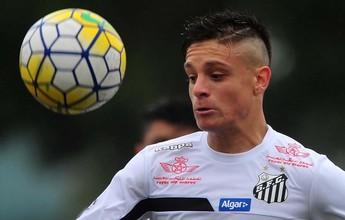 Lucas Crispim diz não à Portuguesa e espera propostas para deixar o Santos