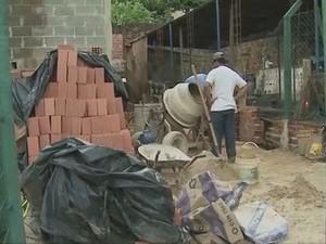 Mais de 6.000 vagas foram geradas na construção civil em Piracicaba este ano (Foto: Reprodução/ EPTV)
