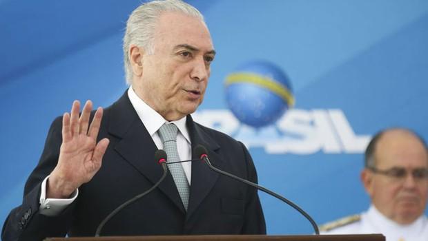 Temer garante que Planalto não tem favorito para eleição na Câmara