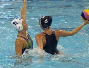 Polo aquático feminino - Brasil X EUA