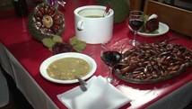 Receita de sopa de pinhão é opção para os dias frios (Reprodução/RPC)