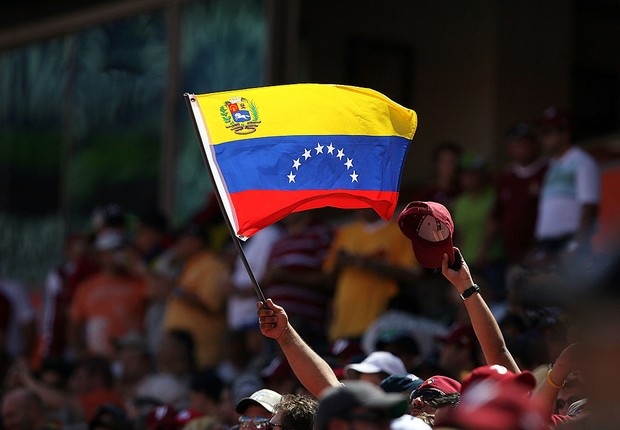 Bandeira da Venezuela (Foto: Doug Benc/Getty Images)