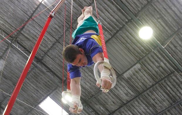 ginástica Arthur Zanetti Dia de Treimento (Foto: Gustavo Tílio)