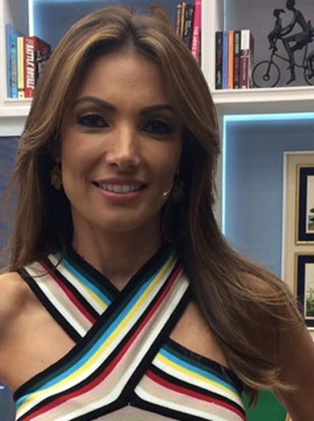 Patrícia Poeta (Foto: TV Globo / Divulgação )