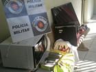 Polícia Militar recupera produtos furtados de residência